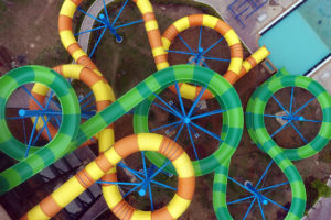 Typhoon Water Park aerial