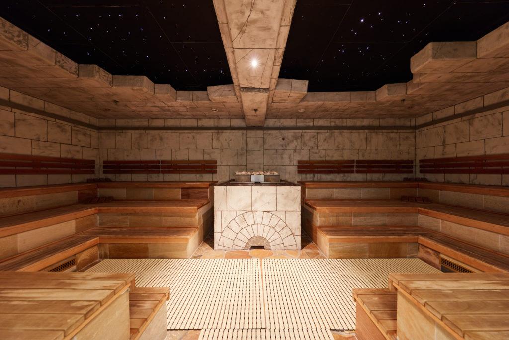 Sauna en Tropical Islands